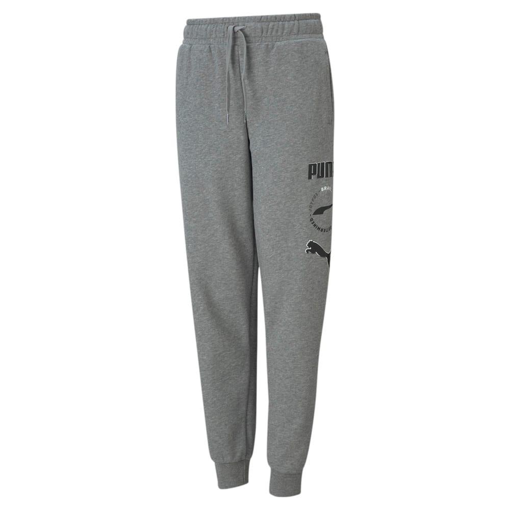Изображение Puma Детские штаны Alpha Youth Sweatpants #1