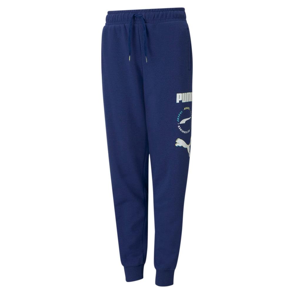 Зображення Puma Дитячі штани Alpha Youth Sweatpants #1