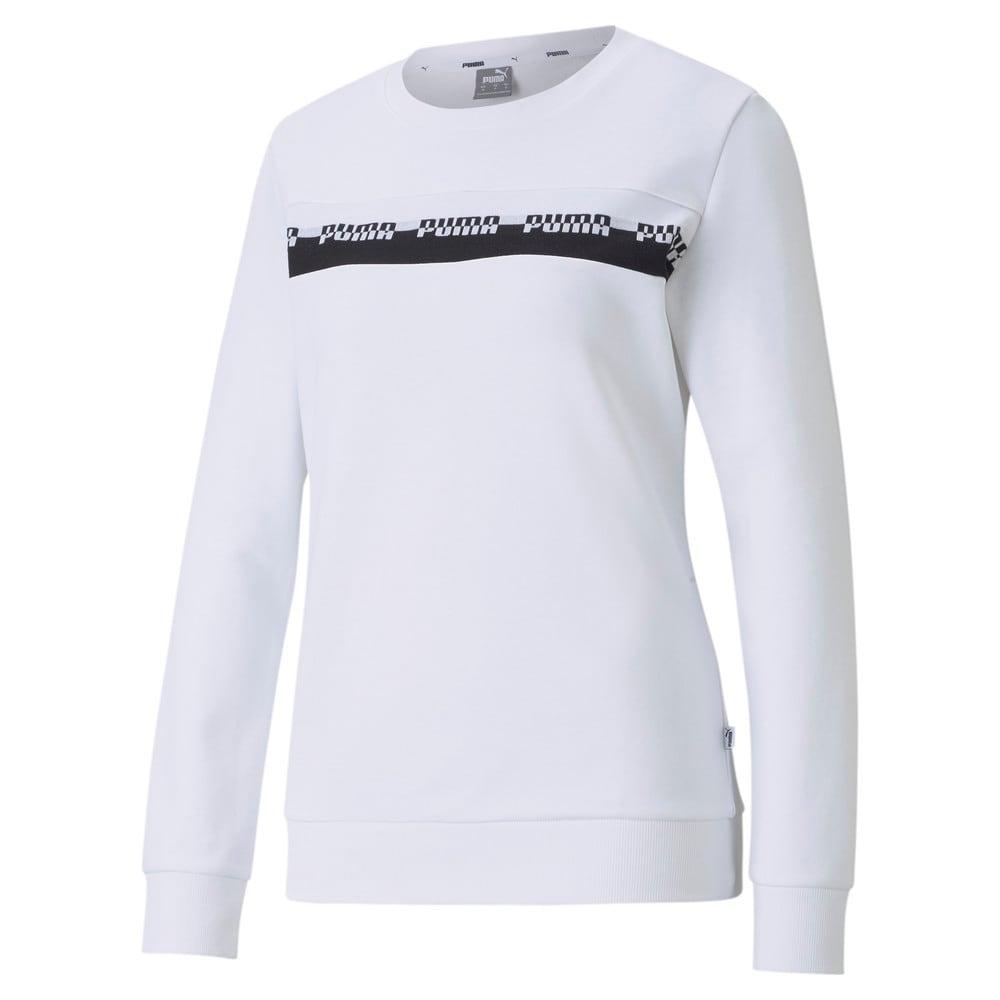 Зображення Puma Толстовка Amplified Crew Neck Women's Sweatshirt #1