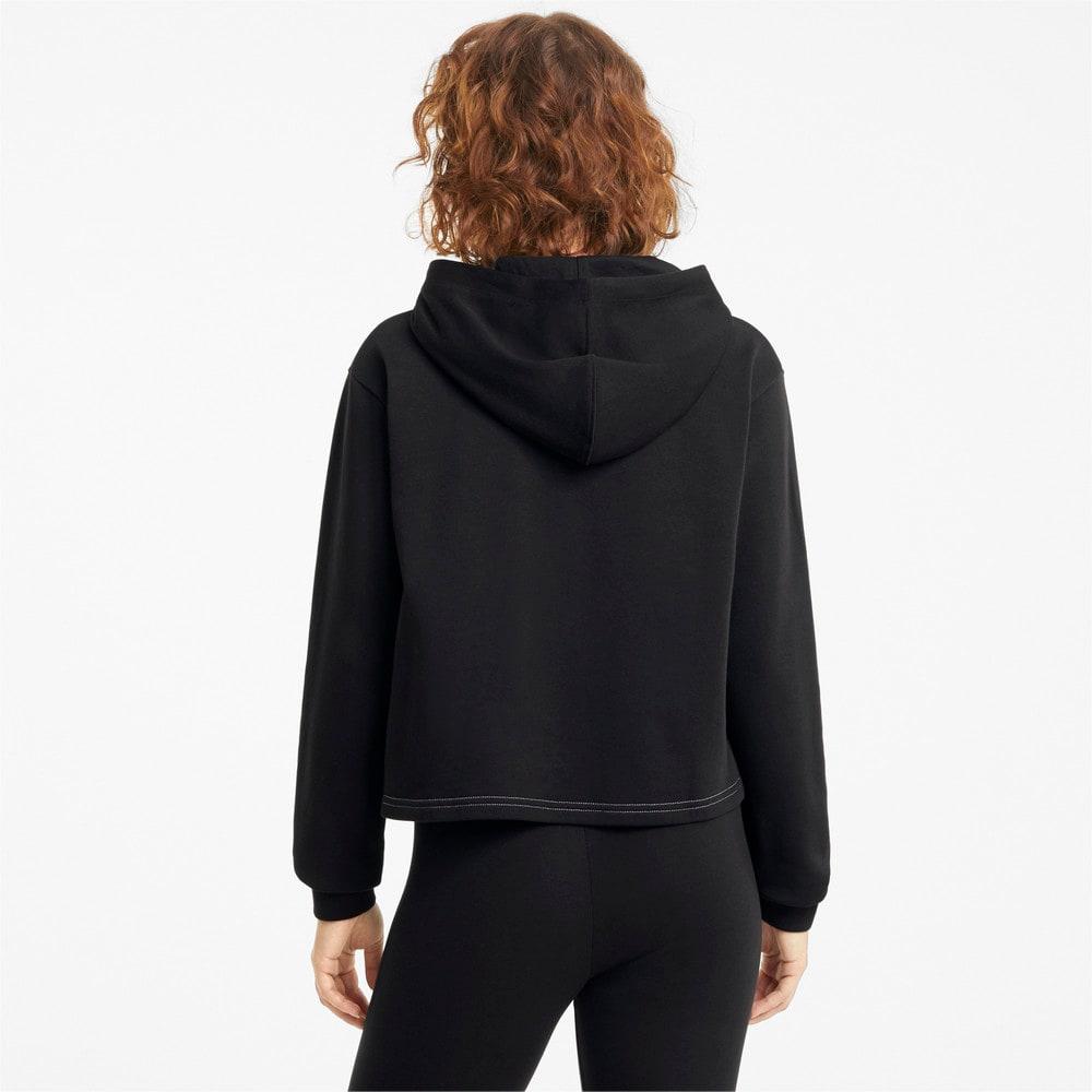 Изображение Puma Толстовка Amplified Cropped Women's Hoodie #2