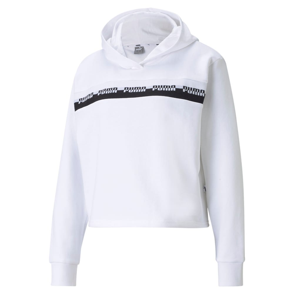 Изображение Puma Толстовка Amplified Cropped Women's Hoodie #1