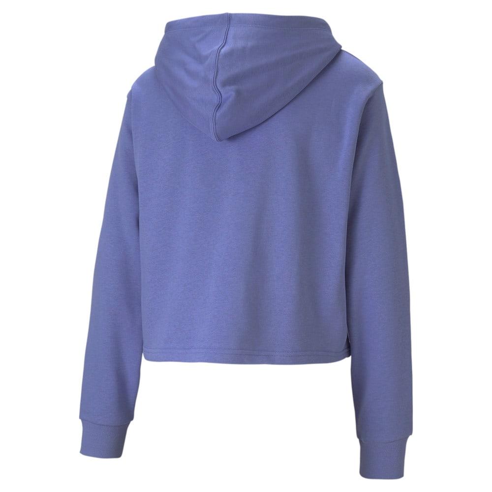 Изображение Puma Толстовка Amplified Cropped Women's Hoodie #2: Hazy Blue