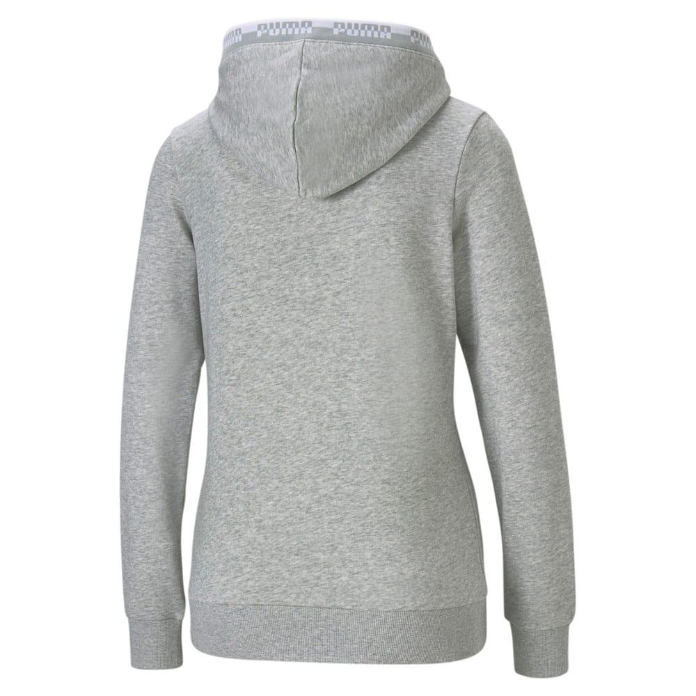 Изображение Puma Толстовка Amplified Full-Zip Women's Hoodie #2: light gray heather