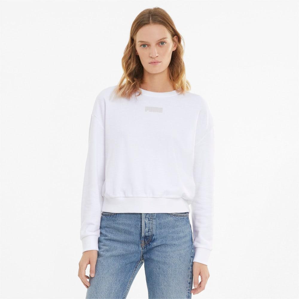 Изображение Puma Толстовка Modern Basics Crew Neck Women's Sweatshirt #1