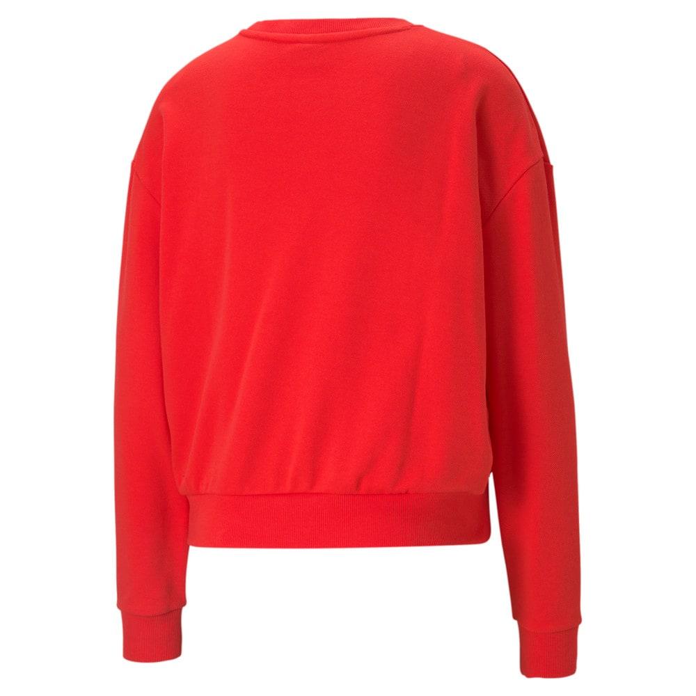 Изображение Puma Толстовка Modern Basics Crew Neck Women's Sweatshirt #2: Poppy Red