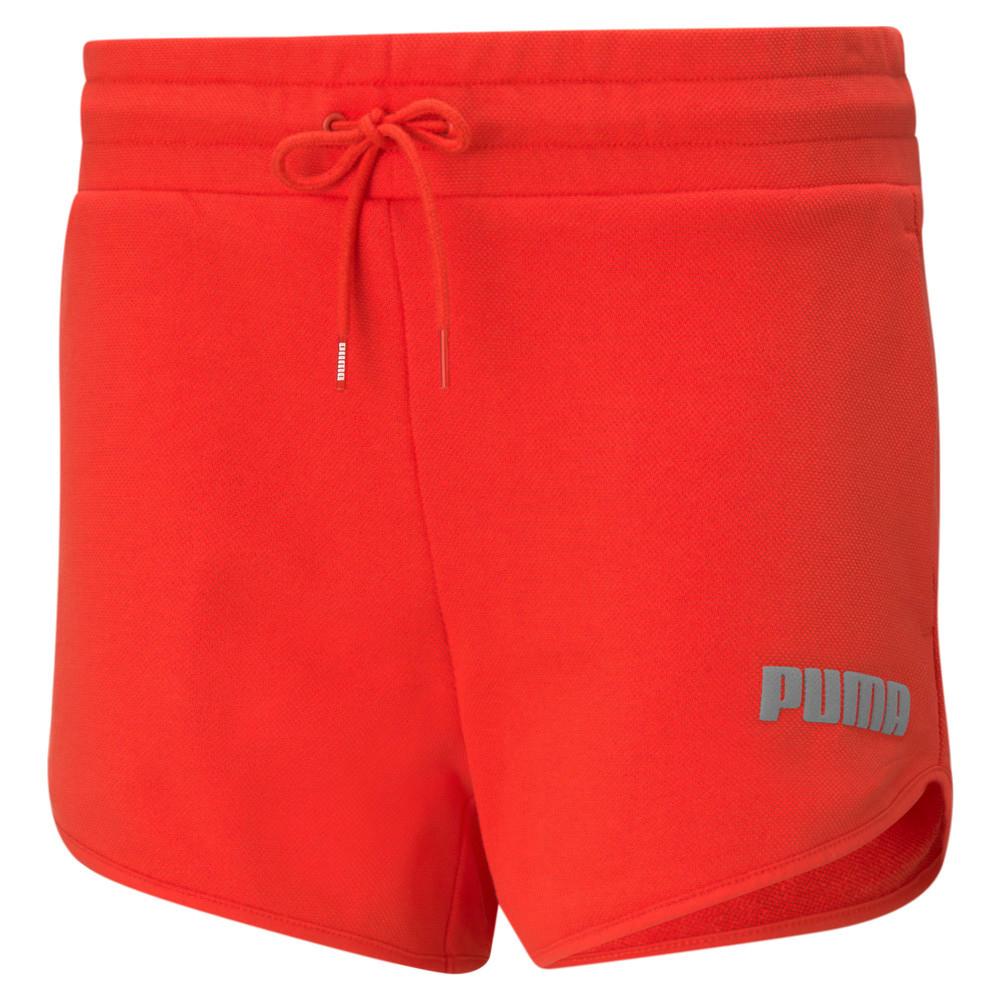 Зображення Puma Шорти Modern Basics High Rise Women's Shorts #1: Poppy Red