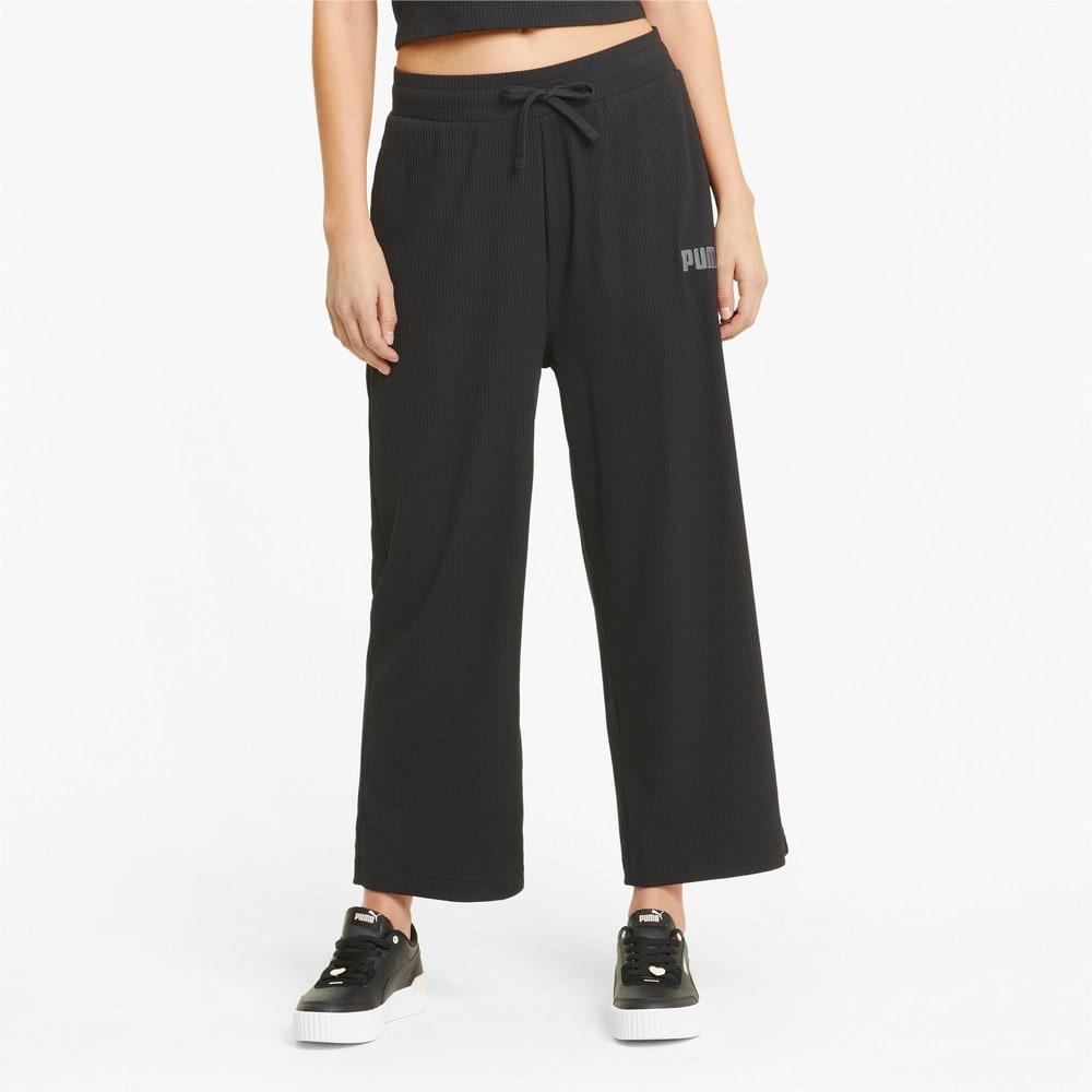 Изображение Puma Штаны Modern Basics Wide Women's Pants #1: Puma Black