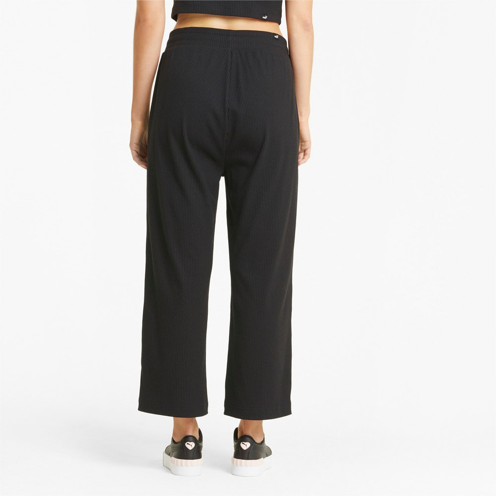 Изображение Puma Штаны Modern Basics Wide Women's Pants #2: Puma Black