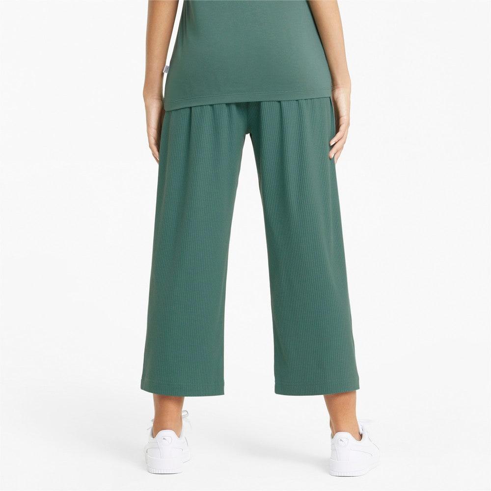 Изображение Puma Штаны Modern Basics Wide Women's Pants #2: Blue Spruce