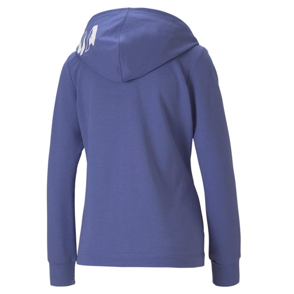 Изображение Puma Толстовка Modern Sports Full-Zip Women's Hoodie #2: Hazy Blue
