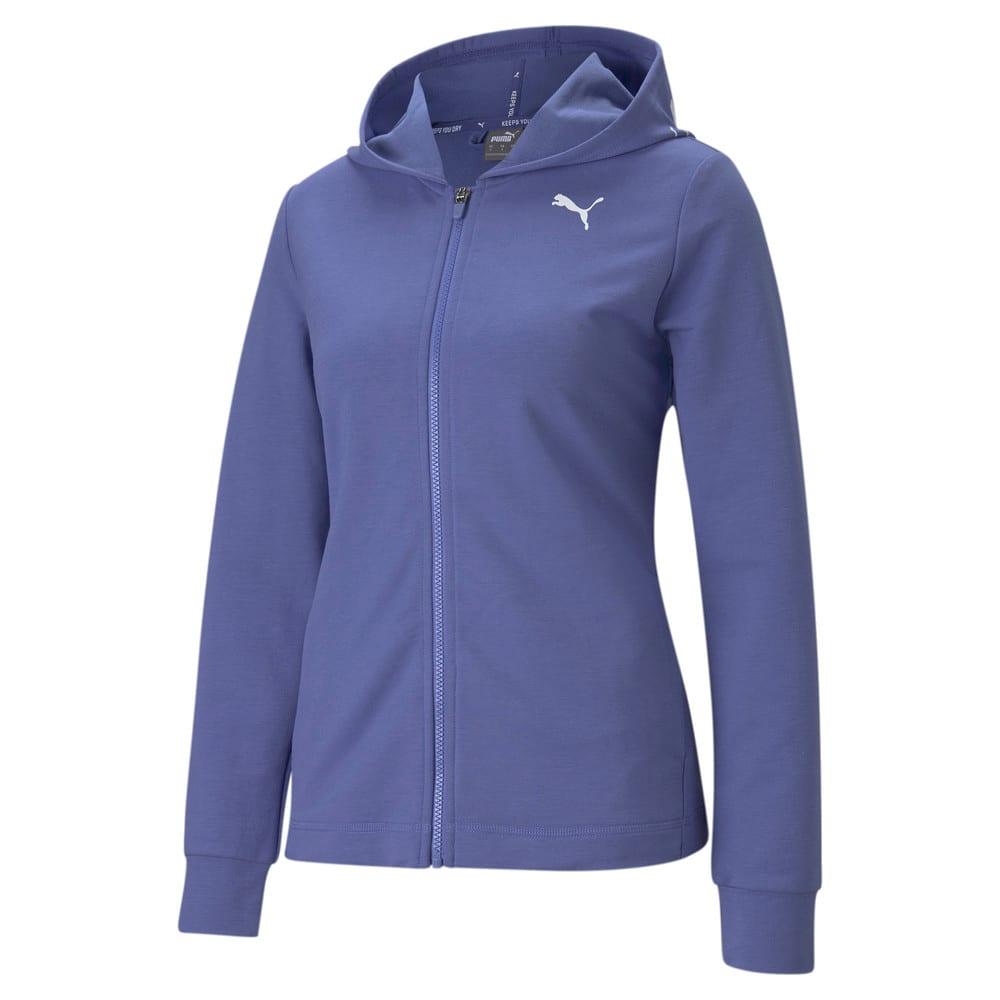 Изображение Puma Толстовка Modern Sports Full-Zip Women's Hoodie #1: Hazy Blue