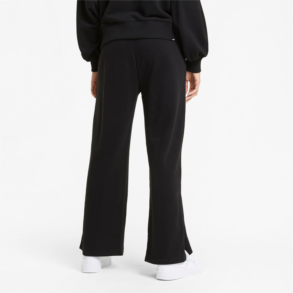 Изображение Puma Штаны HER Wide Women's Sweatpants #2: Puma Black