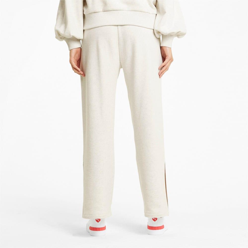 Зображення Puma Штани HER Wide Women's Sweatpants #2: Puma White Heather