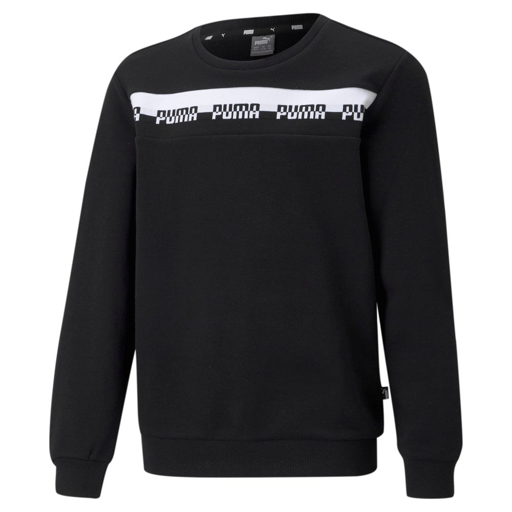 Image Puma Amplified Crew Neck Youth Sweatshirt #1