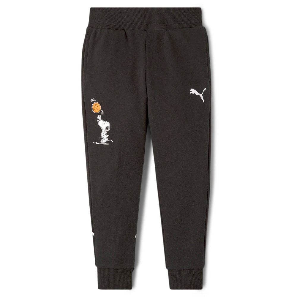 Зображення Puma Дитячі штани PUMA x PEANUTS Kids' Sweatpants #1