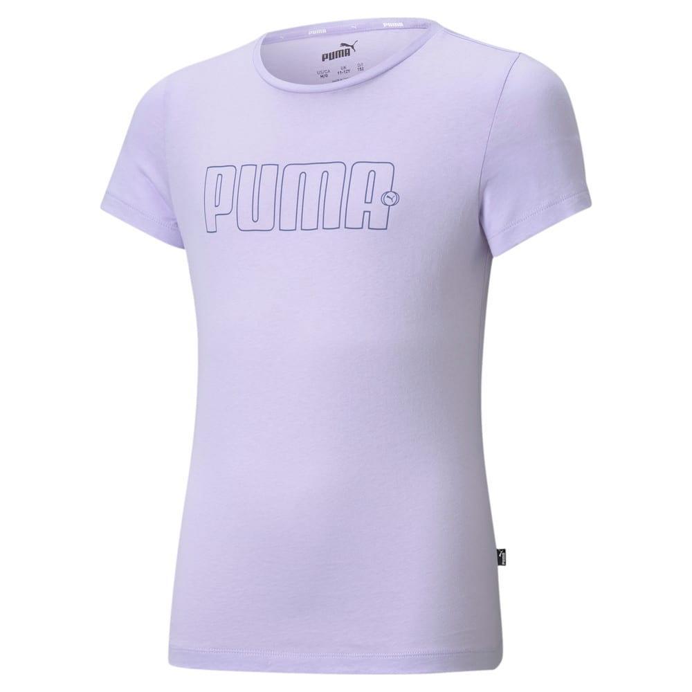Изображение Puma Детская футболка Rebel Youth Tee #1: Light Lavender