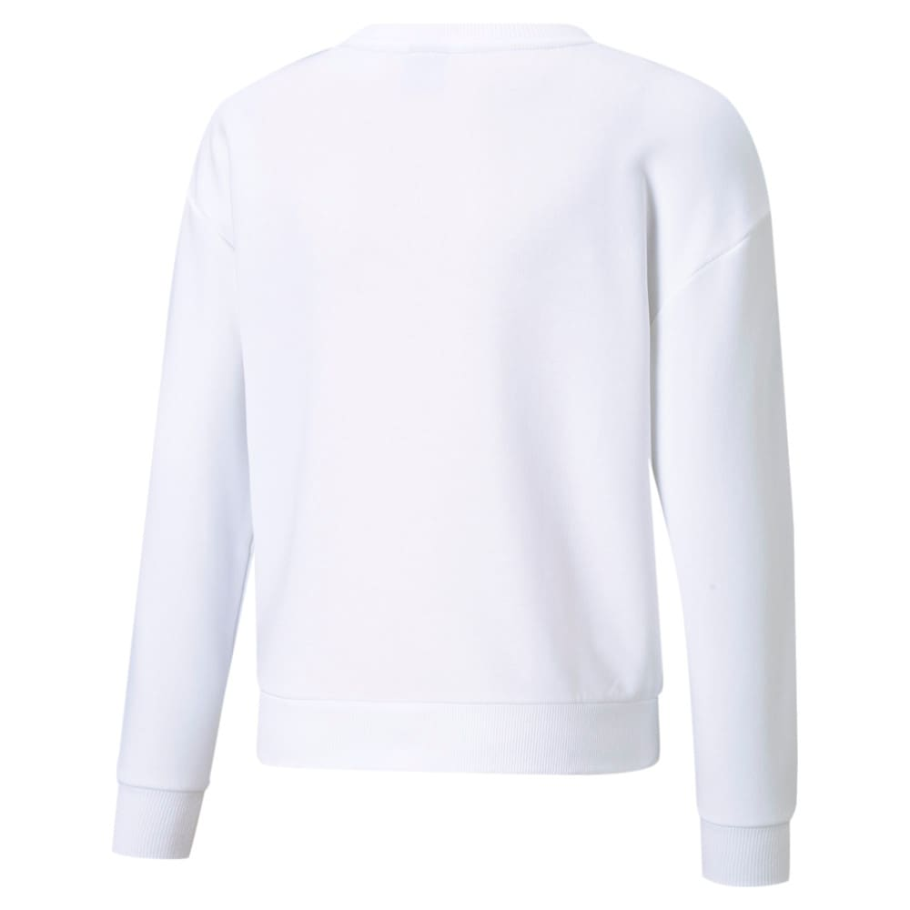 Изображение Puma Детская толстовка Rebel Crew Neck Youth Sweater #2