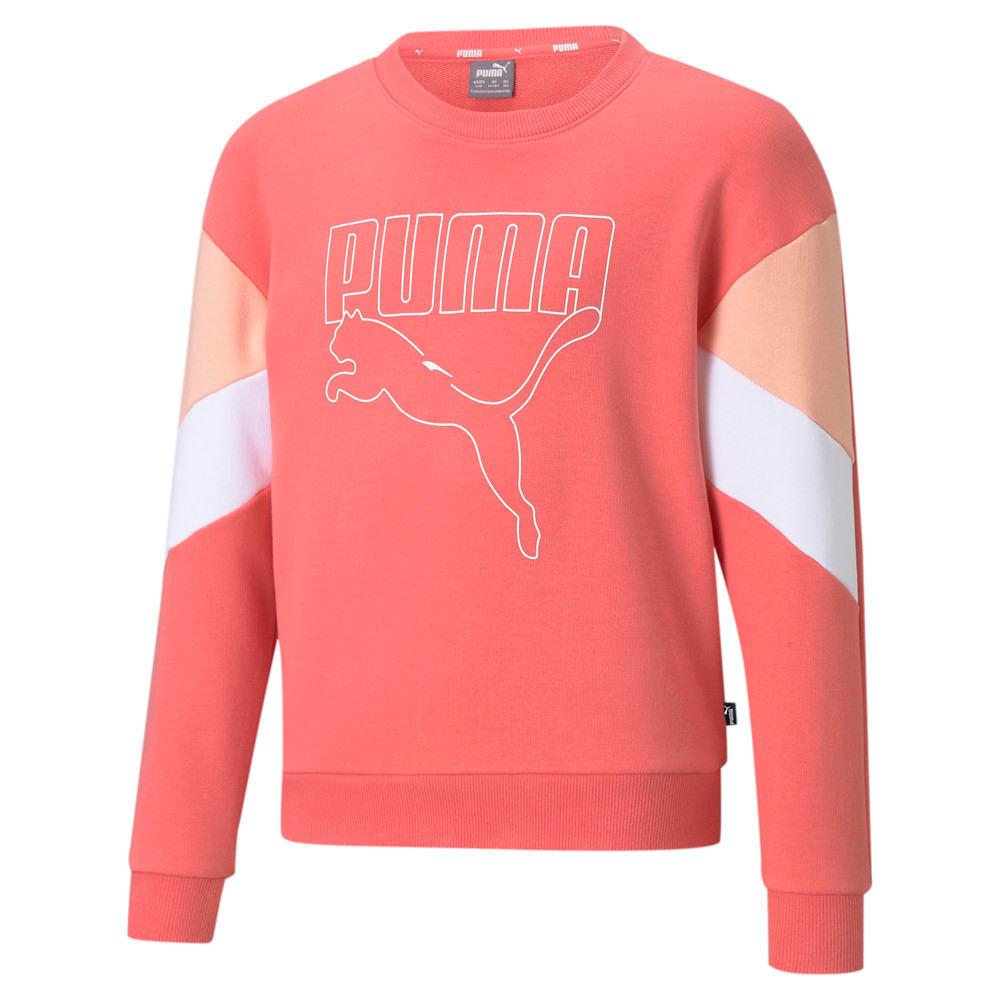 Image Puma Rebel Crew Neck Youth Sweater #1