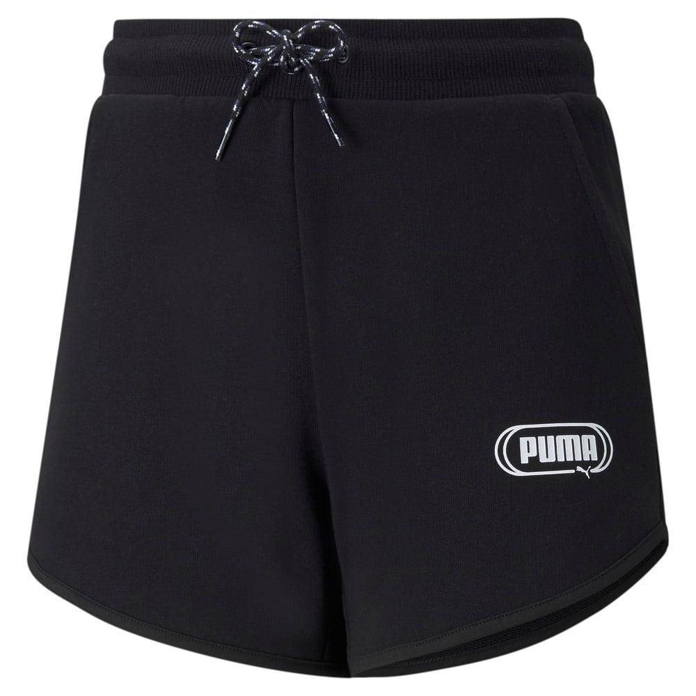 Изображение Puma Детские шорты Rebel Youth Shorts #1