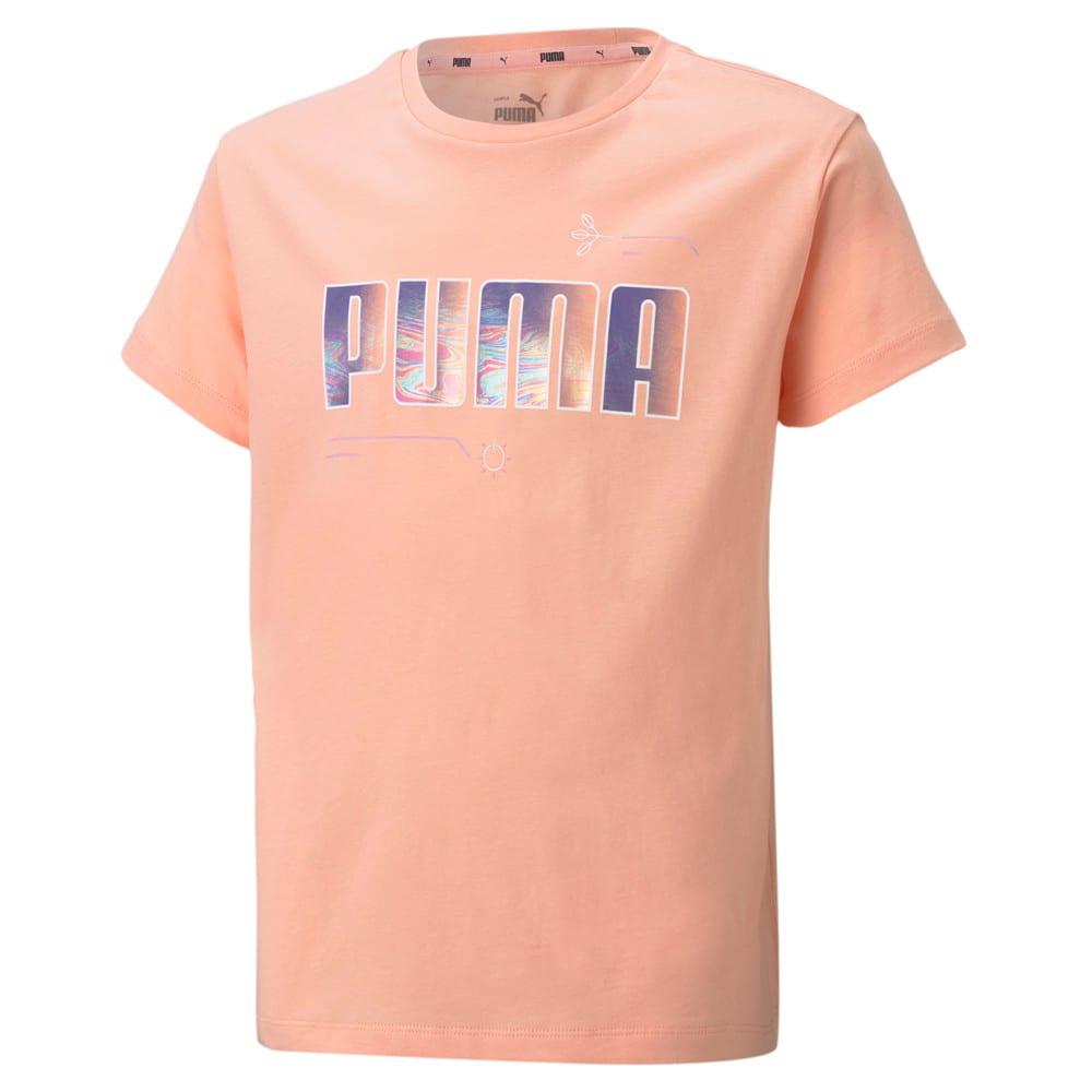 Изображение Puma Детская футболка Alpha Youth Tee #1