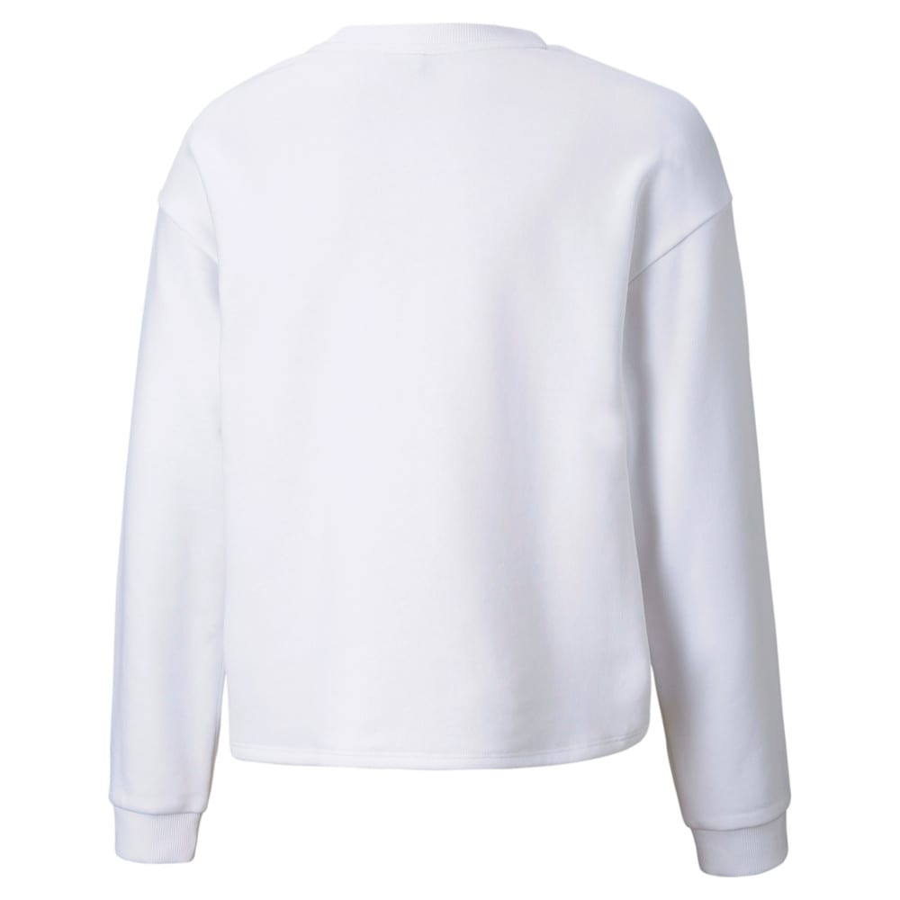 Изображение Puma Детская толстовка Alpha Crew Youth Sweatshirt #2