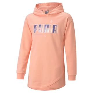 Изображение Puma Детская толстовка Alpha Elongated Youth Hoodie