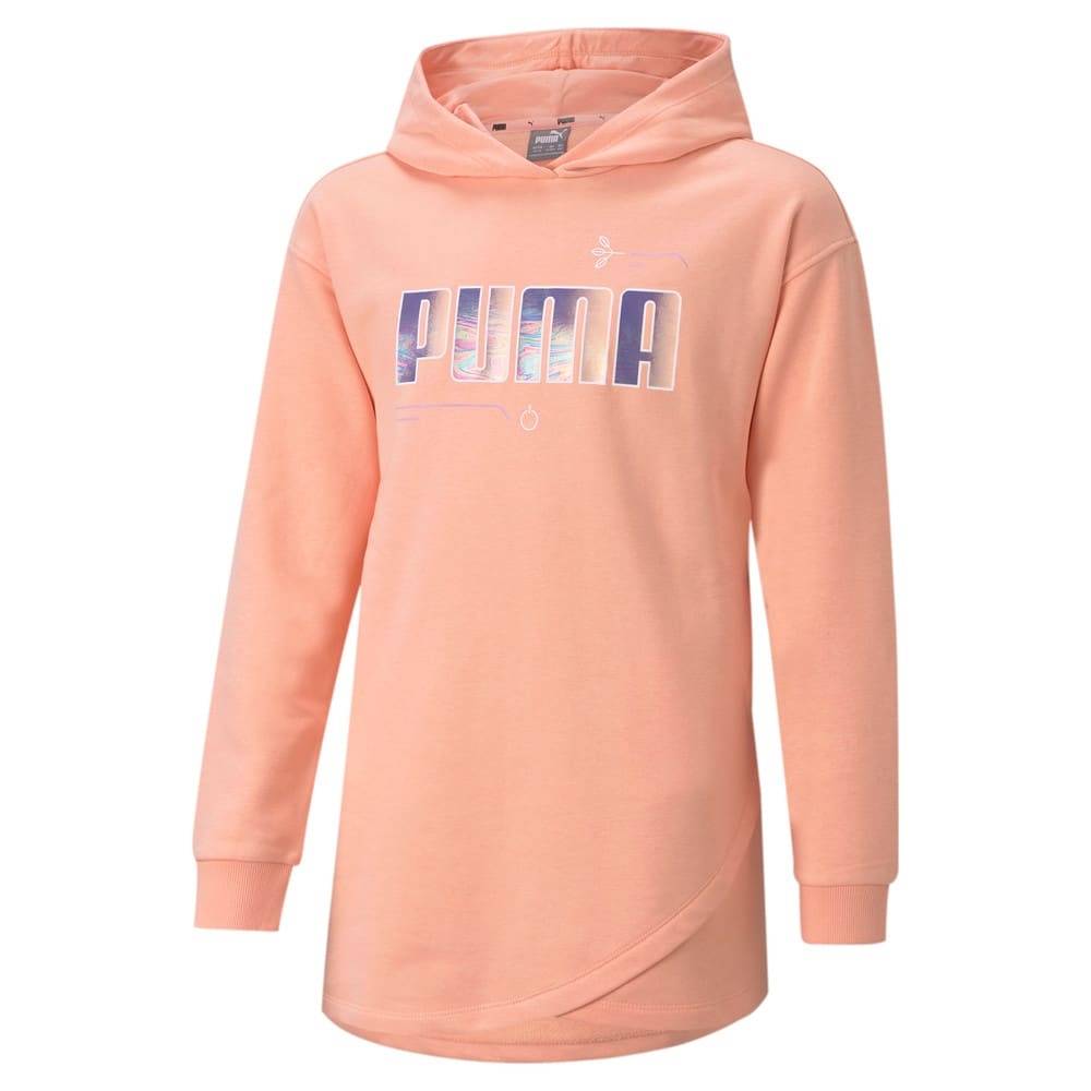 Изображение Puma Детская толстовка Alpha Elongated Youth Hoodie #1