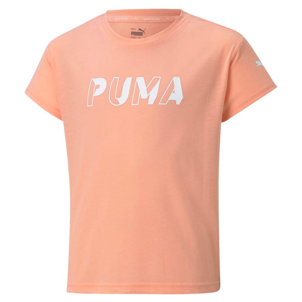 Зображення Puma Дитяча футболка Modern Sports Logo Youth Tee #1: Apricot Blush