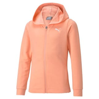Изображение Puma Детская толстовка Modern Sports Full-Zip Youth Hoodie