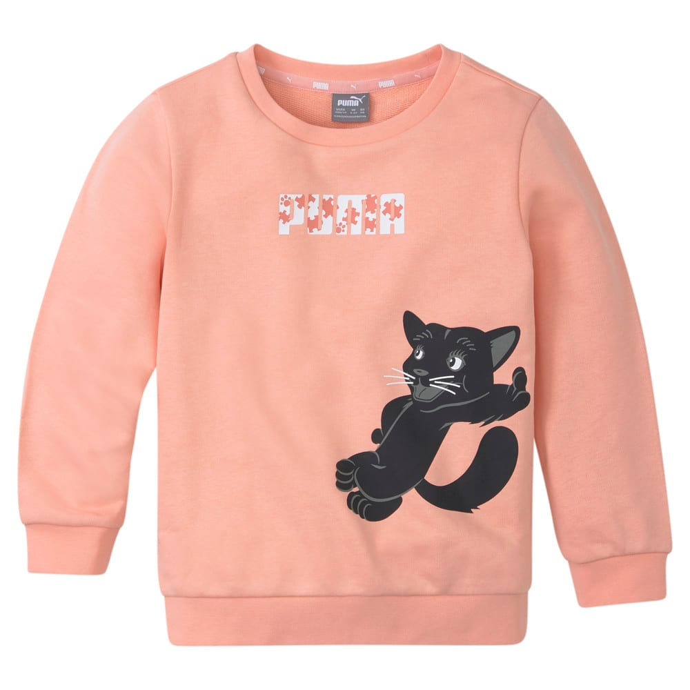 Изображение Puma Детская толстовка Paw Crew Neck Kids' Sweatshirt #1
