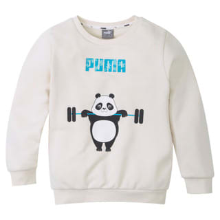 Изображение Puma Детская толстовка Paw Crew Neck Kids' Sweatshirt