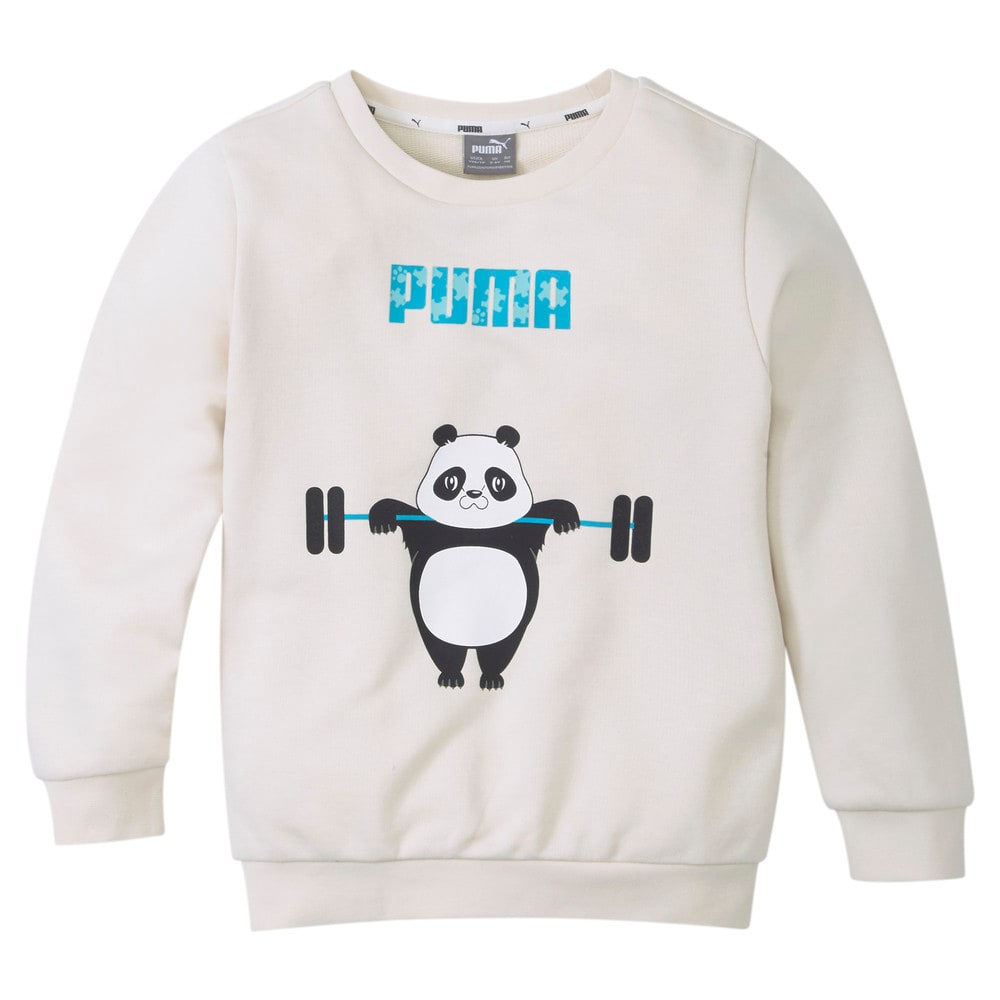 Изображение Puma Детская толстовка Paw Crew Neck Kids' Sweatshirt #1