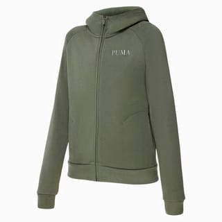 Изображение Puma Толстовка Athletics FZ Hoody FL