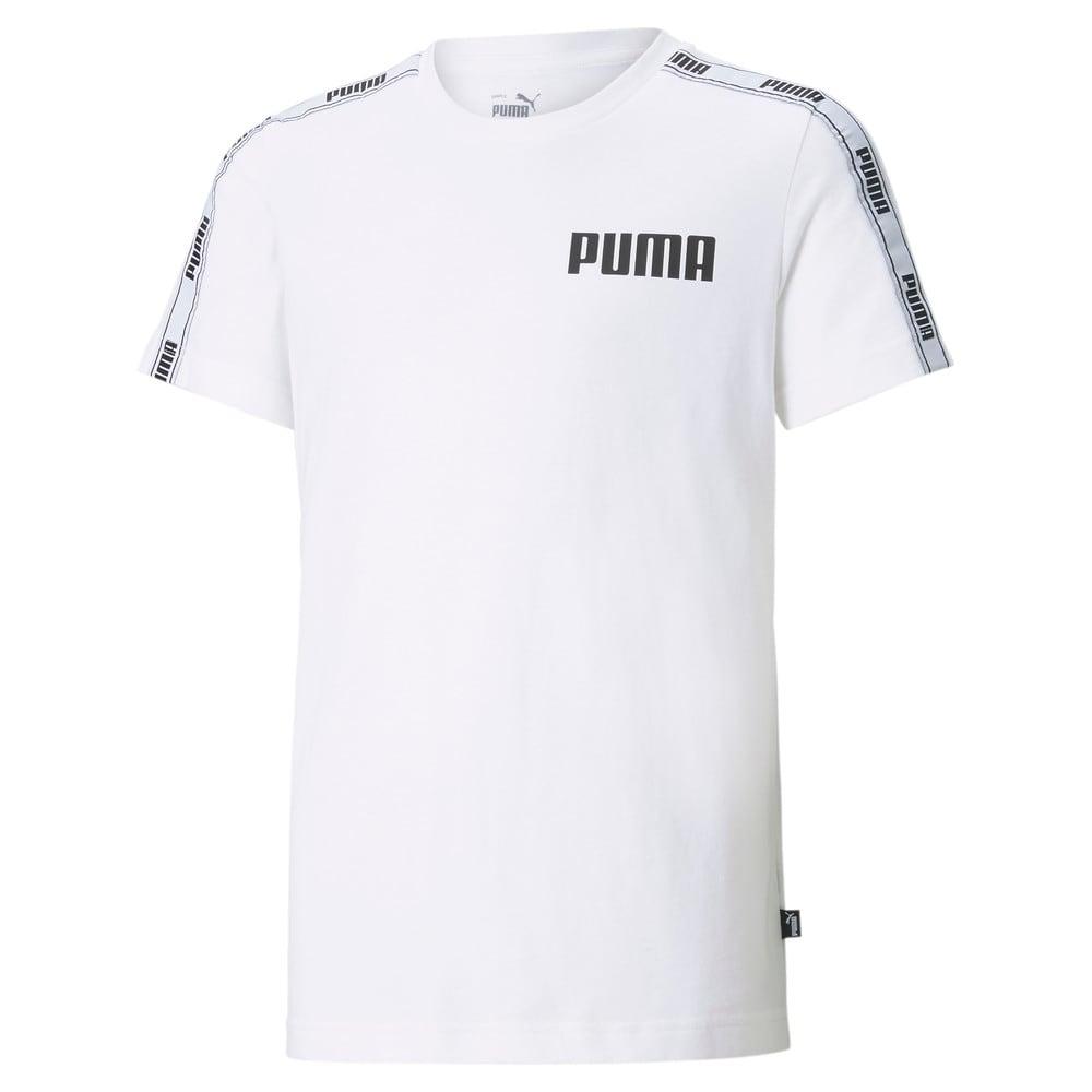 Изображение Puma Футболка Tape Youth Tee #1