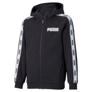 Изображение Puma Толстовка Tape French Terry Full-Zip Youth Hoodie
