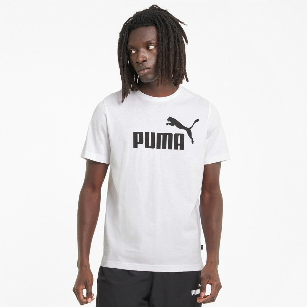 Изображение Puma Футболка Essentials Logo Men's Tee #1