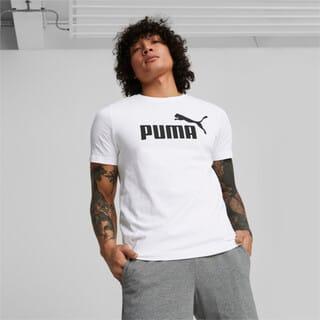 Зображення Puma Футболка Essentials Logo Men's Tee