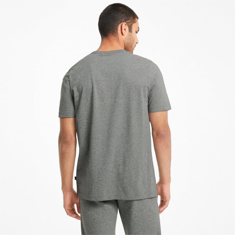 Изображение Puma Футболка Essentials Logo Men's Tee #2: Medium Gray Heather