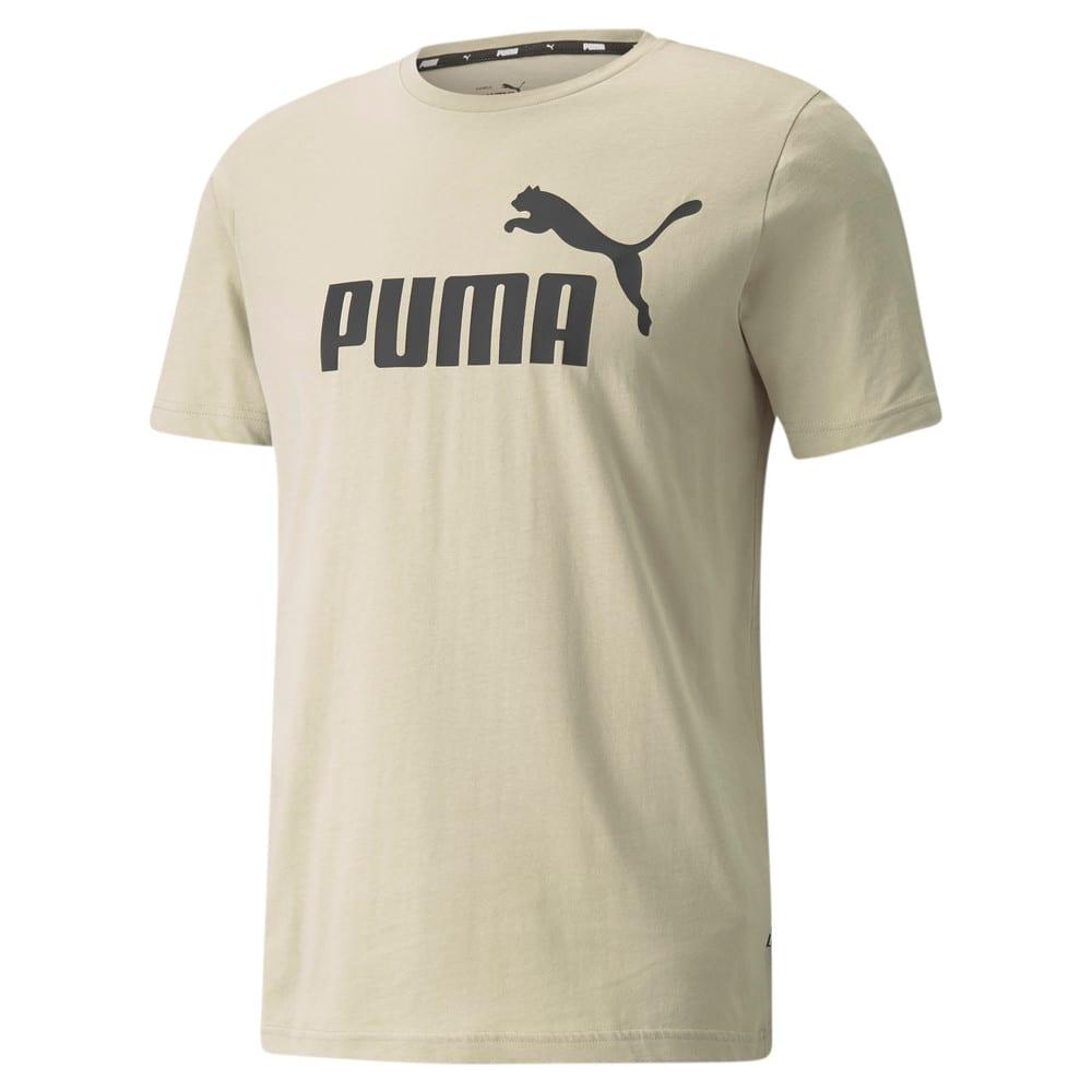 Зображення Puma Футболка Essentials Logo Men's Tee #1: Spray Green