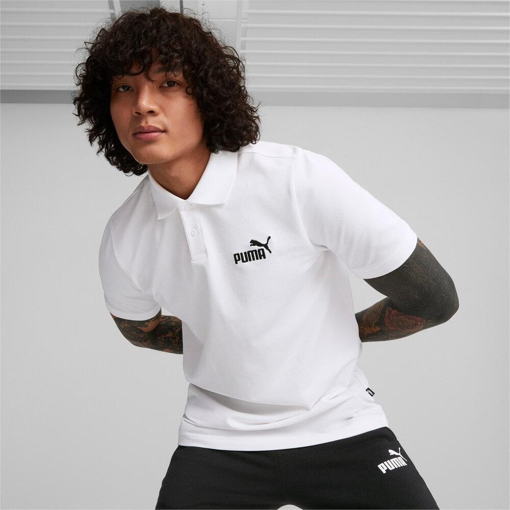 Görüntü Puma ESSENTIALS PIQUE Erkek Polo T-shirt #1
