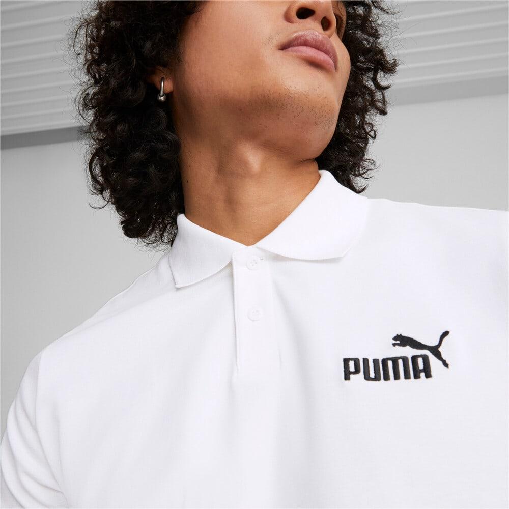Изображение Puma Поло Essentials Pique Men's Polo Shirt #2