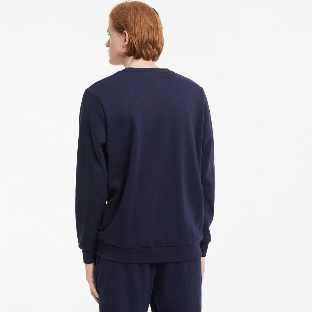 Изображение Puma Толстовка Essentials Big Logo Crew Neck Men's Sweater #2: Peacoat