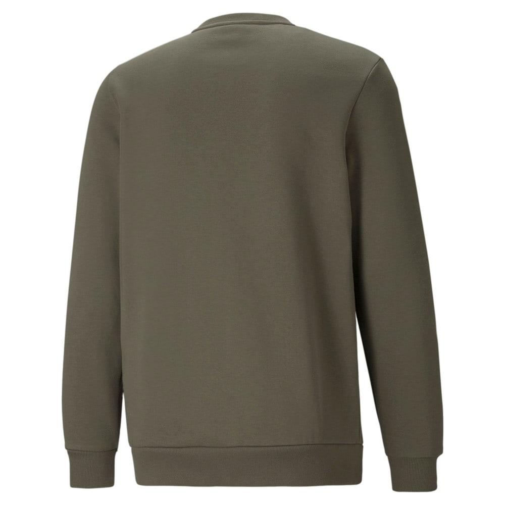 Изображение Puma Толстовка Essentials Big Logo Crew Neck Men's Sweater #2: Grape Leaf