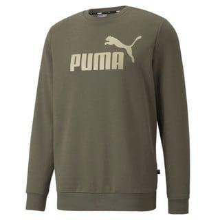 Зображення Puma Толстовка Essentials Big Logo Crew Neck Men's Sweater
