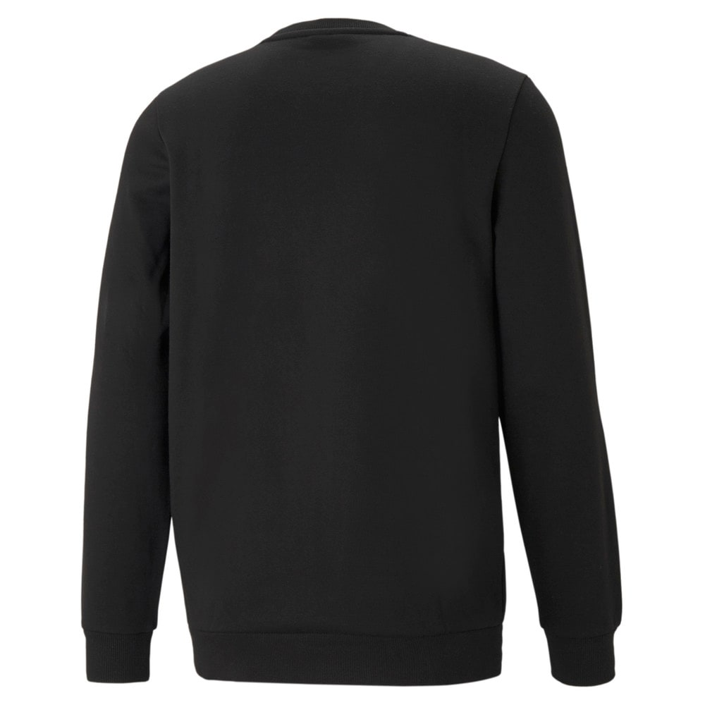 Зображення Puma Толстовка Essentials Small Logo Crew Neck Men's Sweatshirt #2: Puma Black