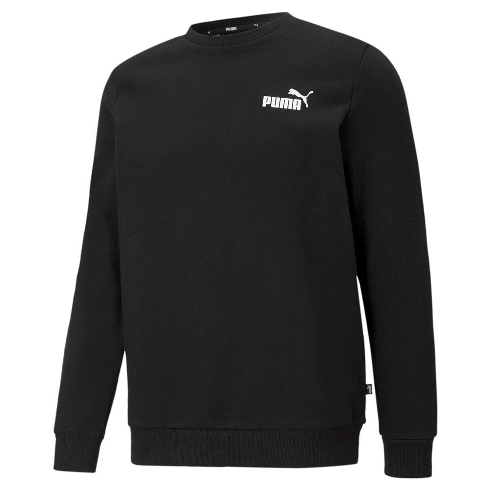 Изображение Puma Толстовка Essentials Small Logo Crew Neck Men's Sweatshirt #1