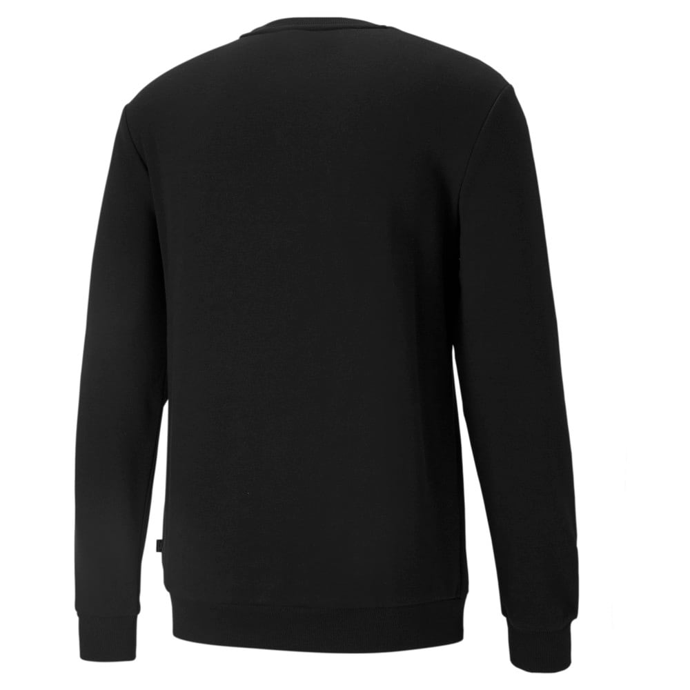 Изображение Puma Толстовка Essentials Small Logo Men's Sweatshirt #2: Puma Black-Cat