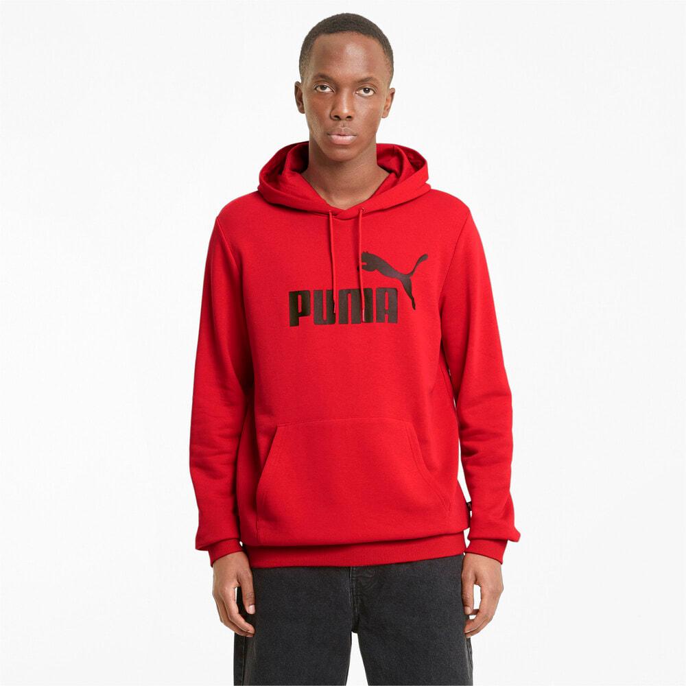 Image PUMA Moletom com Capuz Essentials Big Logo Masculino #1