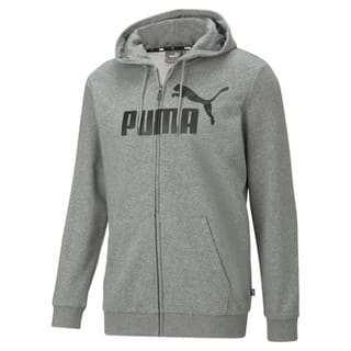 Изображение Puma Толстовка Essentials Big Logo Full-Zip Men's Hoodie