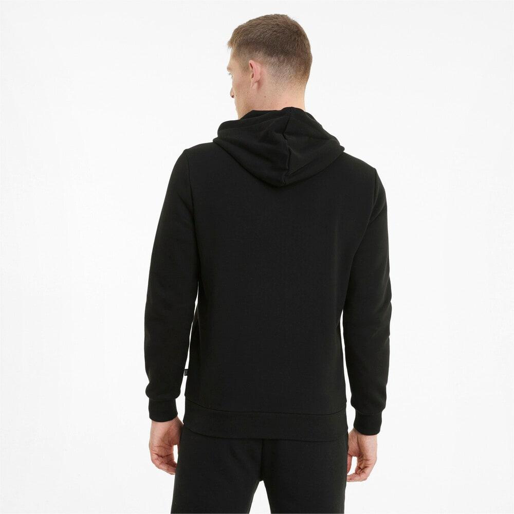 Imagen PUMA Chaqueta con logotipo, capucha y cierre completo para hombre Essentials #2